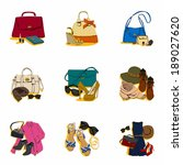 illustration of fashion bags | Shutterstock . vector #189027620
