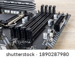 Four Slots For Ddr4 Ram Memory...