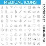 Medicine And Health Symbols  ...