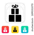 gifts icon. vector illustration.