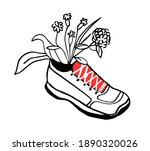 vector isolated  decorative ... | Shutterstock .eps vector #1890320026