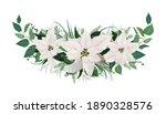 winter season festive christmas ... | Shutterstock .eps vector #1890328576