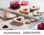 Image of heart shaped cookies...