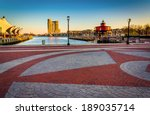 the waterfront promenade at the ... | Shutterstock . vector #189035714