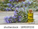 Rosemary Essential Oil In A...