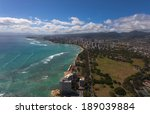 hawaii's cityscape from the... | Shutterstock . vector #189039884