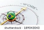 brazil high resolution work...   Shutterstock . vector #189043043