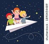 vector illustration cartoon of...   Shutterstock .eps vector #1890454489