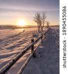 Winter Sun Beams.  This Image...