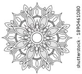 mandalas for coloring book....   Shutterstock .eps vector #1890461080
