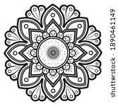 mandalas for coloring book....   Shutterstock .eps vector #1890461149