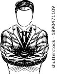 merchant  businessman business...   Shutterstock .eps vector #1890471109