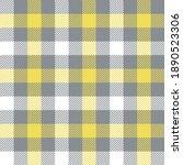 gingham pattern in illuminating ... | Shutterstock .eps vector #1890523306