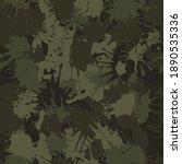 blots camo seamless chaotic... | Shutterstock .eps vector #1890535336