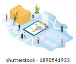 kyc know your customer concept... | Shutterstock .eps vector #1890541933
