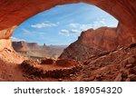 the false kiva in canyonlands... | Shutterstock . vector #189054320