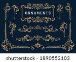 classic ornament frame element  ... | Shutterstock .eps vector #1890552103