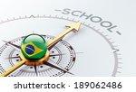 brazil high resolution school...   Shutterstock . vector #189062486