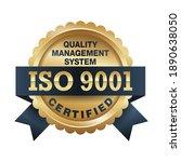 iso 9001 conformity to... | Shutterstock .eps vector #1890638050