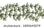 seamless brush  pattern of... | Shutterstock .eps vector #1890645079