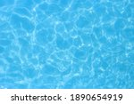 Water In Swimming Pool Rippled...