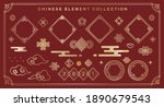 chinese element collection....   Shutterstock .eps vector #1890679543