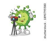 Virus Photographer Character....