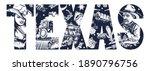 texas slogan. cowboy girl ...   Shutterstock .eps vector #1890796756