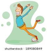 stumbling | Shutterstock .eps vector #189080849