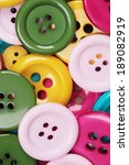 a collection with many buttons... | Shutterstock . vector #189082919