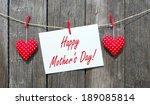 happy mother's day   Shutterstock . vector #189085814
