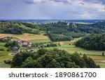 Countryside Around Ruins Of...