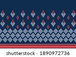 abstract geometric ethnic... | Shutterstock .eps vector #1890972736