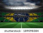 digitally generated brazilian... | Shutterstock . vector #189098384