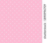 seamless pink polka dot...   Shutterstock .eps vector #1890996709