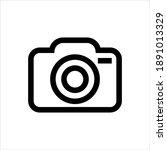 camera photography icon on...