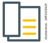 telephone icon vector design....