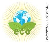 ecology concept illustration.... | Shutterstock . vector #1891037323
