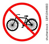 illustration of a prohibited... | Shutterstock . vector #1891044883