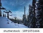 Echo Mountain ski lift view
