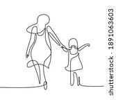One Single Line Drawing Of...