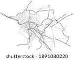 sapporo city map  japan    town ... | Shutterstock .eps vector #1891080220