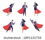 super businessman characters.... | Shutterstock .eps vector #1891131733
