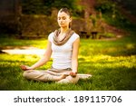 young attractive female... | Shutterstock . vector #189115706