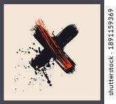modern art poster  cover with... | Shutterstock .eps vector #1891159369