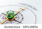 brazil high resolution mission...   Shutterstock . vector #189118856