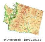 highly detailed washington... | Shutterstock .eps vector #1891225183