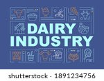 dairy industry word concepts...