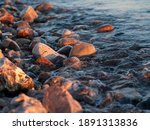 Rocks And Pebbles On The Beach...