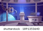 spaceship control center ... | Shutterstock .eps vector #1891353640